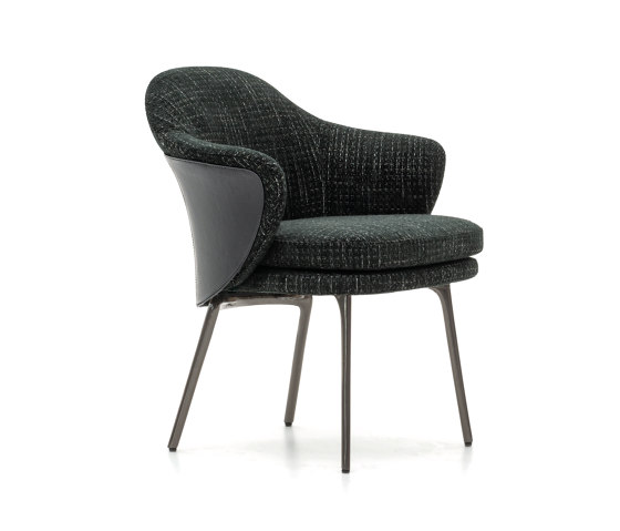 Angie Dining Little Armchair Architonic Chair Minotti Armchair
