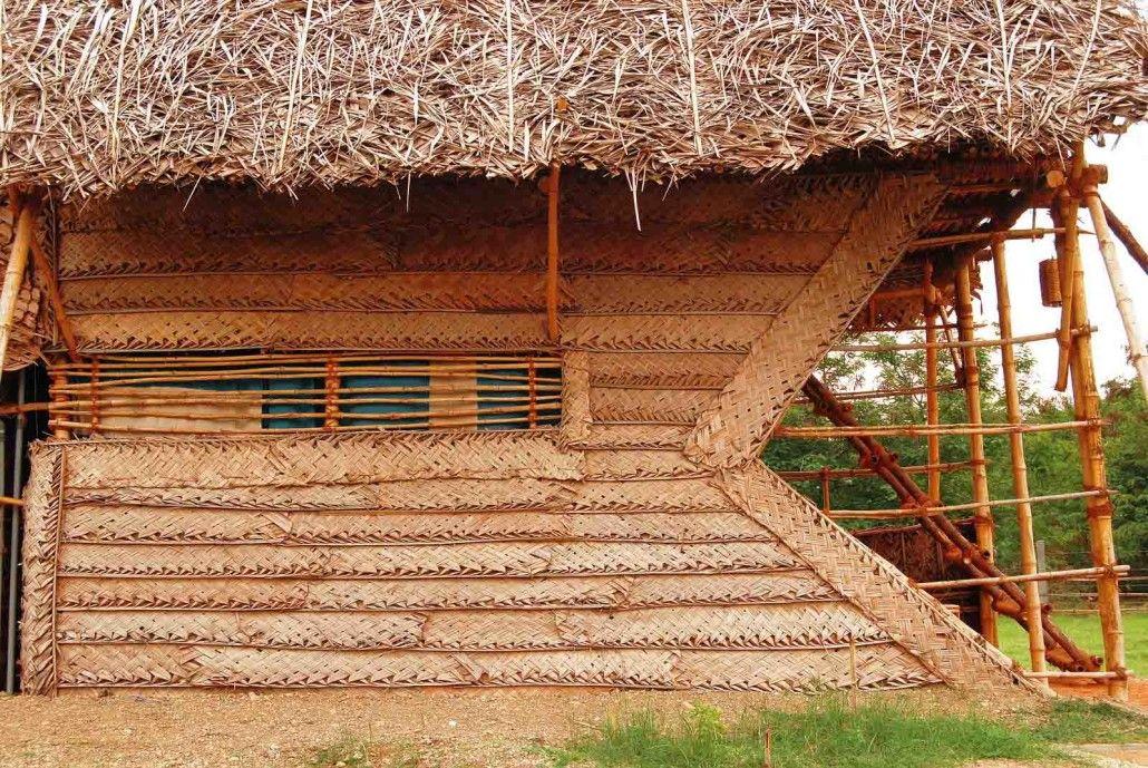 Coconut Leaf Hut Coconut Leaves Palm Wedding Decor Leaves