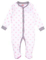 29efbe7cc04fa Pyjama une pièce Deux Petits Canards avec poche au derrière pour bébé fille