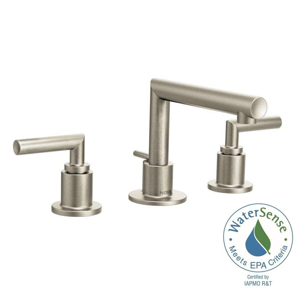 MOEN Arris 8 in. Widespread 2-Handle Bathroom Faucet Trim Kit in ...