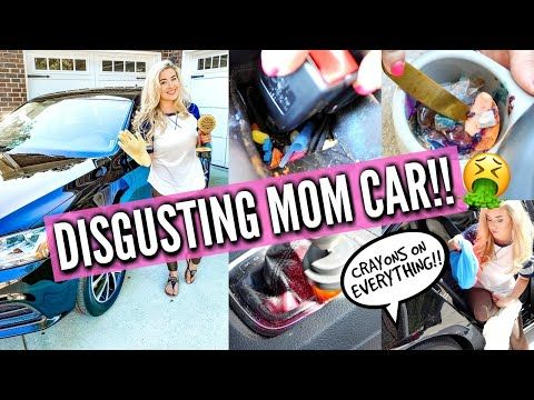 🤮2020 Complete Disaster! CAR CLEAN WITH ME | Full Interior Car Detail Cleaning Motivation Love Meg