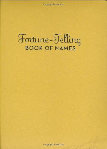 Fortune Telling Book of Names