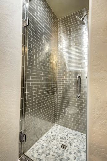 This shower by mariano and co using stainless backsplash from this shower by mariano and co using stainless backsplash from arizona tile is absolutely gorgeous tyukafo
