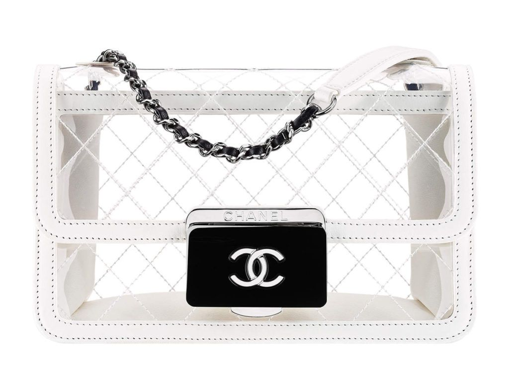 3f8ad8b386ed Chanel S/S17 Transparent Flap Bag | Bags For Boys And Girls | Chanel ...