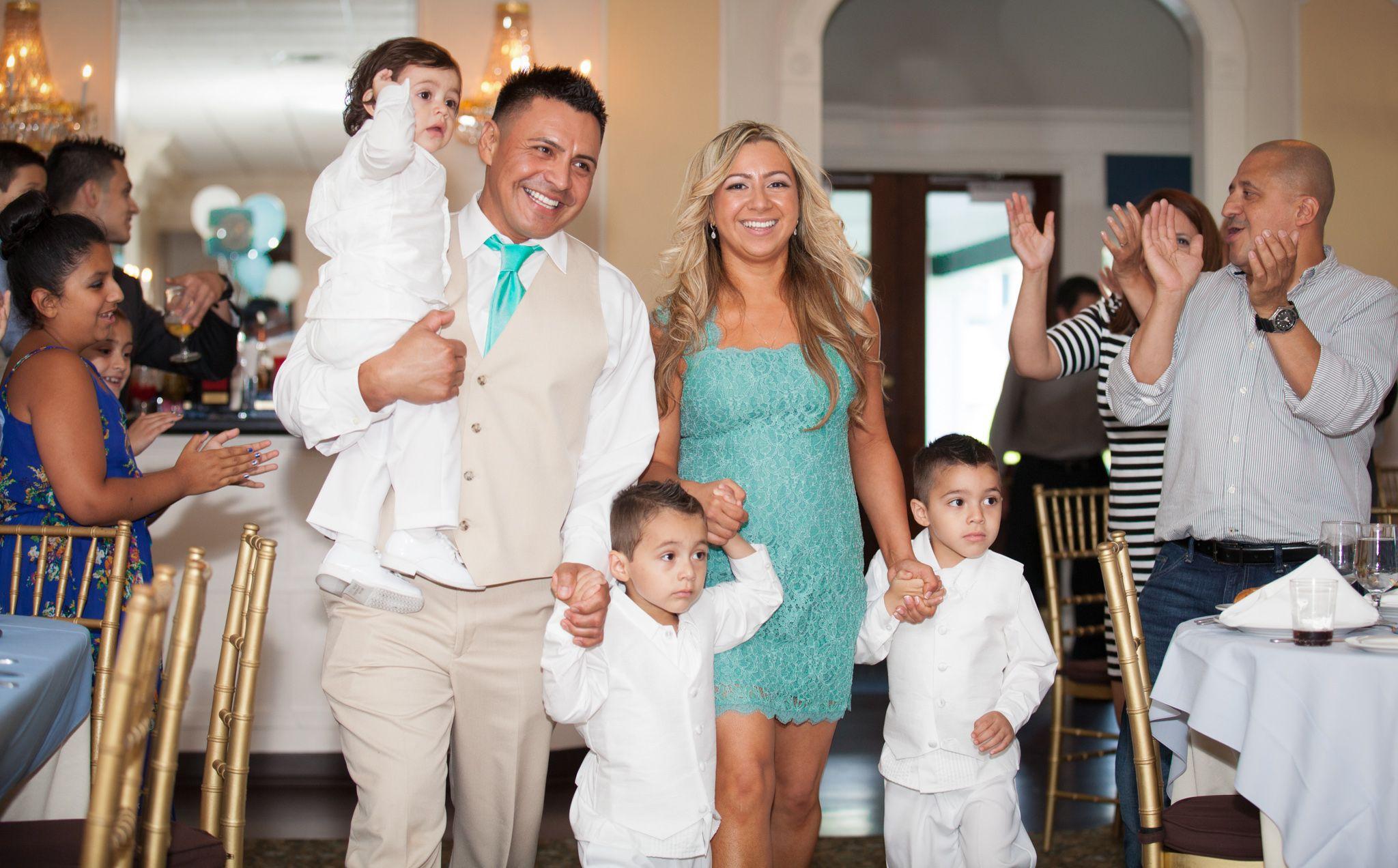 #wedding #entrance #boxofdreamsphotography #kids #weddingparty #nycweddings #longislandweddings #reception #love #fun