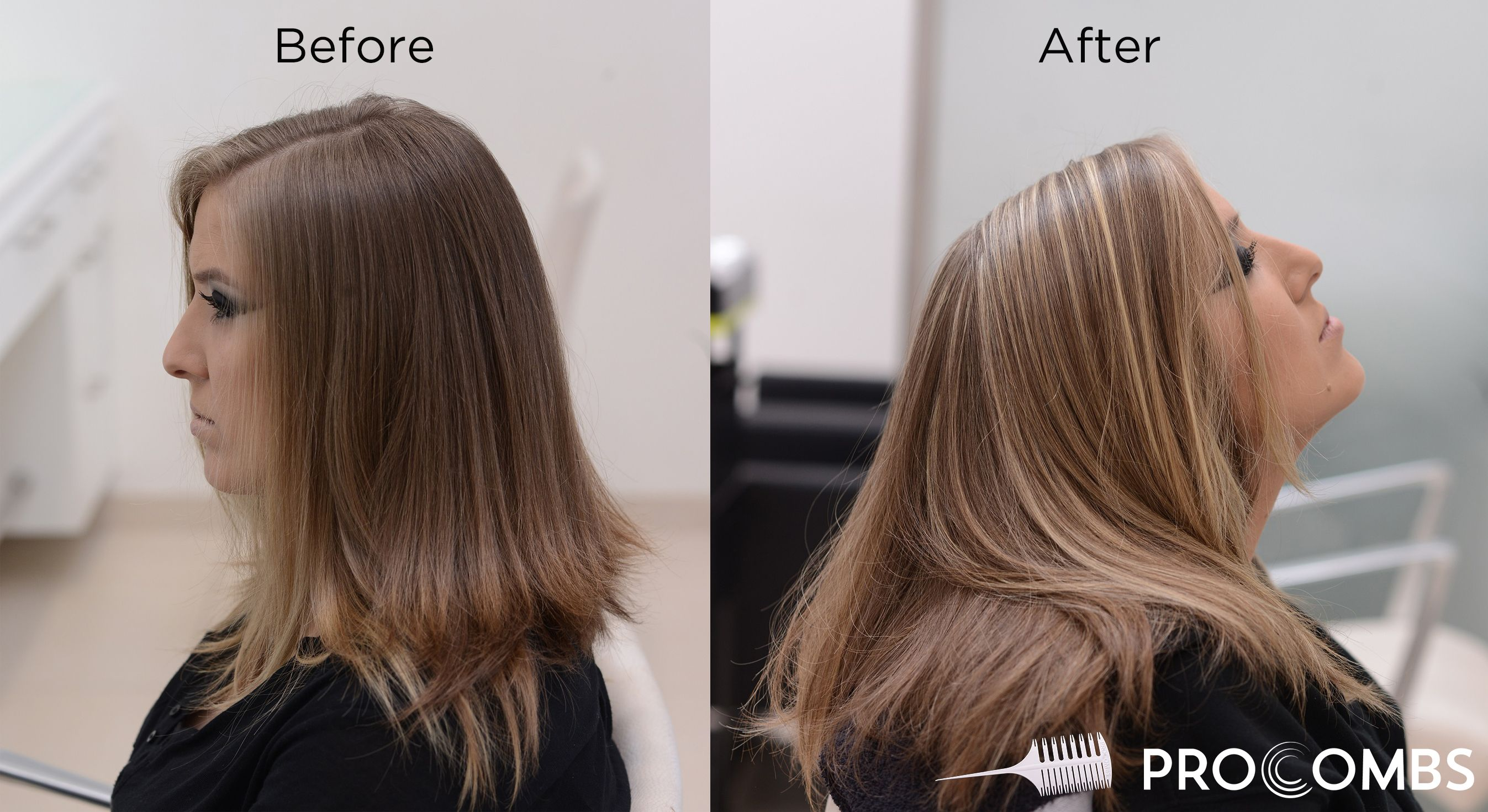 Highlight Weaving Comb For Fine Highlights