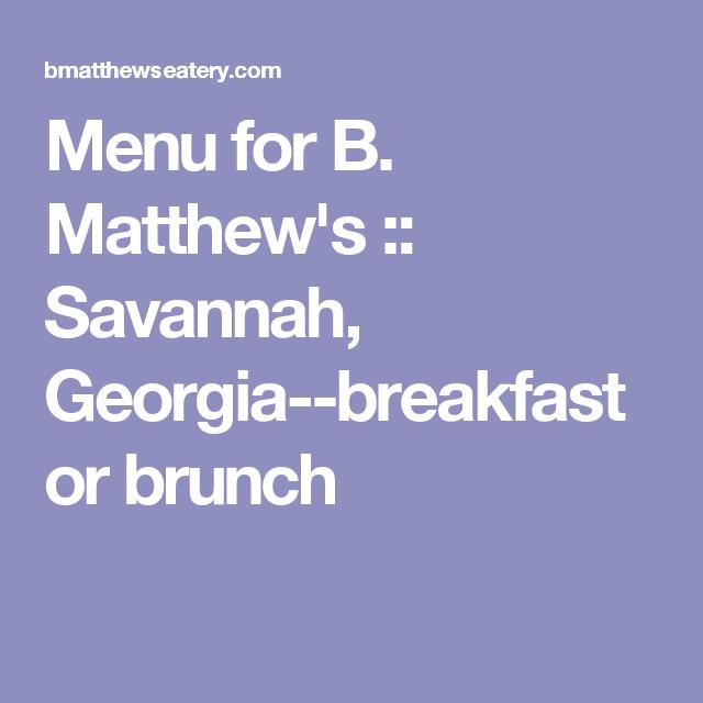 Bistro Dining In Downtown Savannah