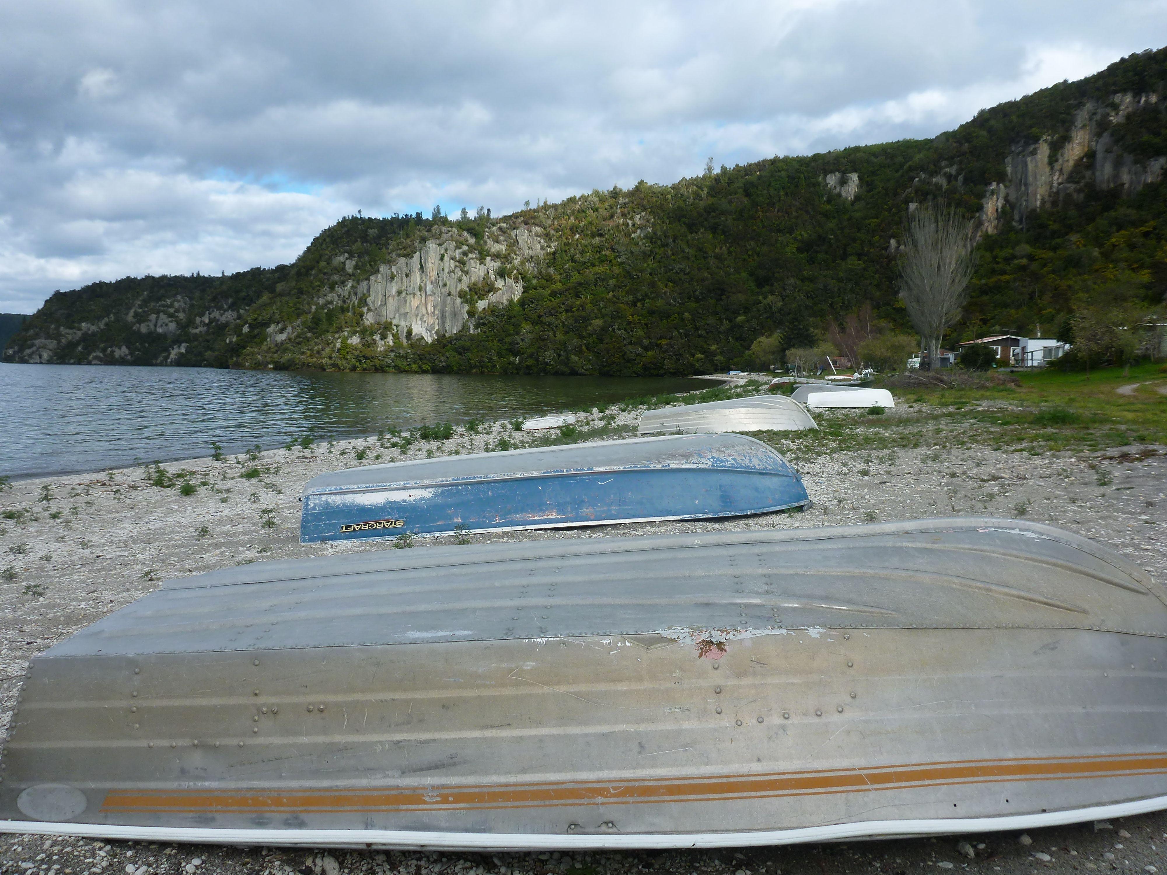 End kayak at Whanganui Bay