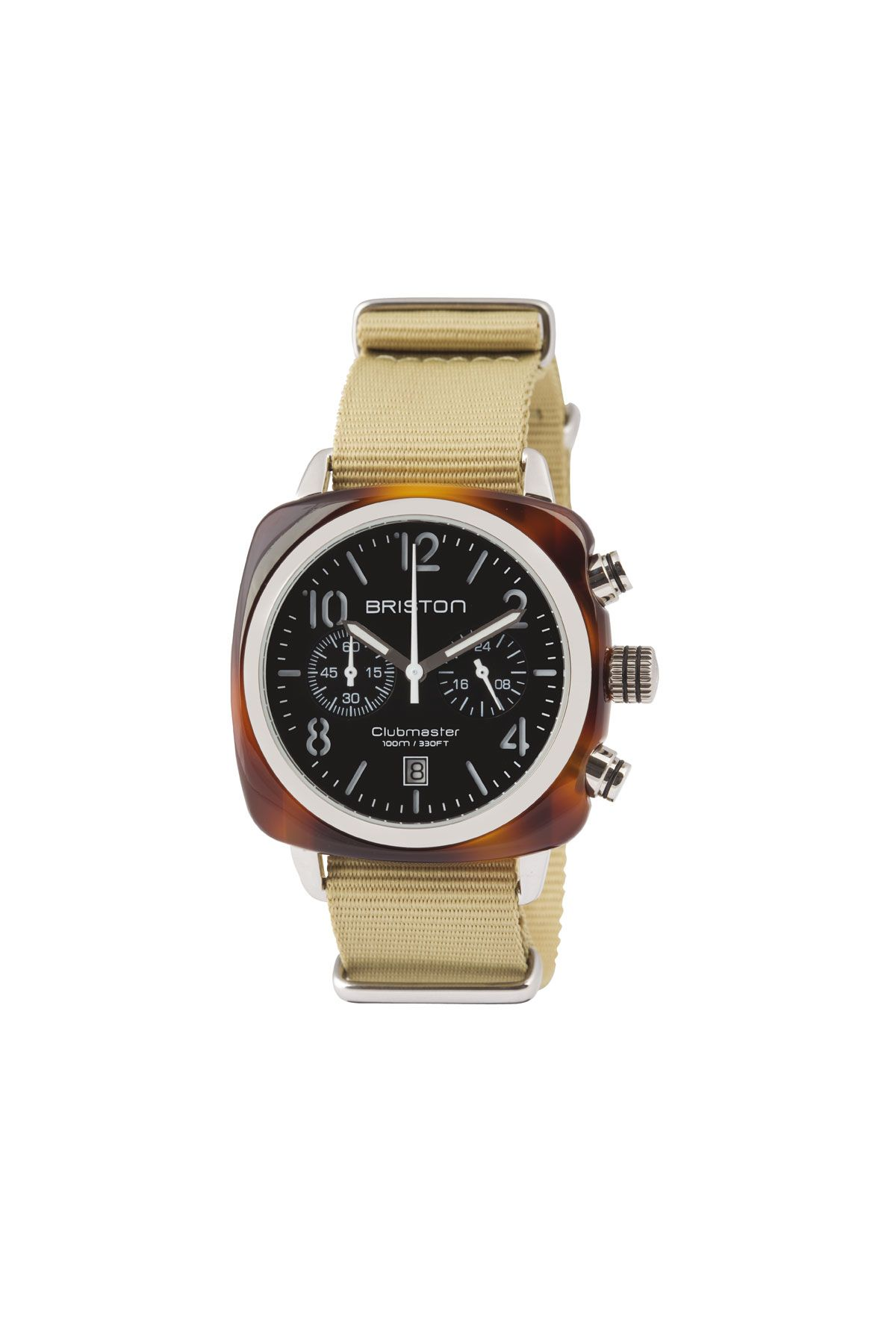 Uhr CLUBMUSTER CLASSIC CHRONOGRAPH SILBER