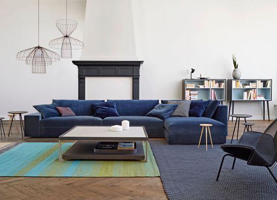 Canapé d\u0027angle  15 modèles pour un salon design Salons, Living - Modeles De Maisons Modernes