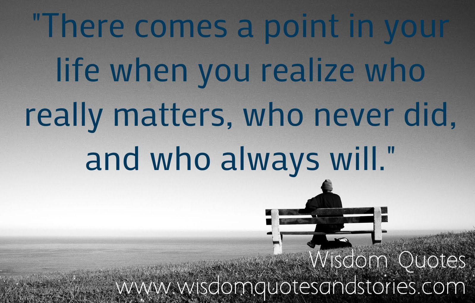 Pinterest Life Quotes: There Comes A Point In Your Life When You Realize Who