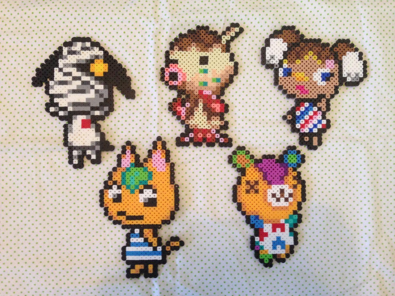 13++ Animal crossing perler beads ideas