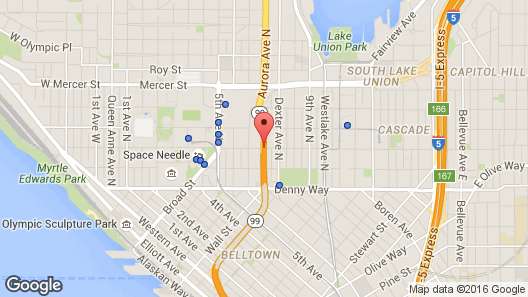 Holiday Inn Express Hotel & Suites Seattle - City Center Map- indoor ...