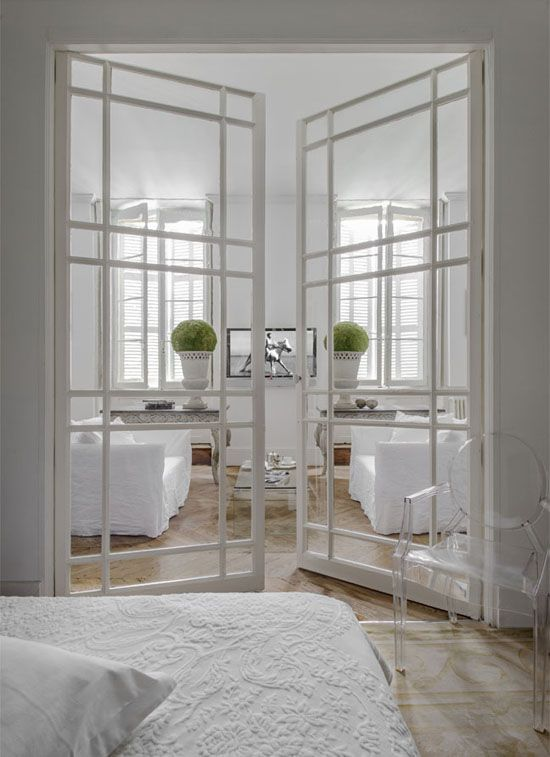 Innenfenster These Are Lovely Interior Doors. Glass Doors With Grids