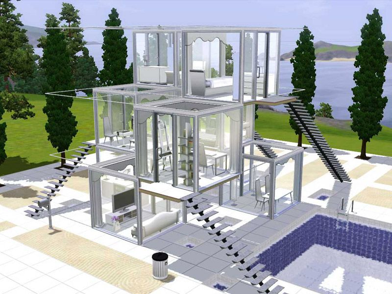 Sims 4 Cc Glass Roof