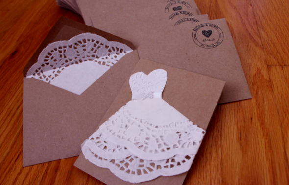How To Make Wedding Invites: How Amazing Would These Be For A Bridal Shower Invite