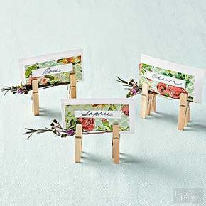 DIY Place Card Holders Business Card Maker Business Cards And - Place card maker