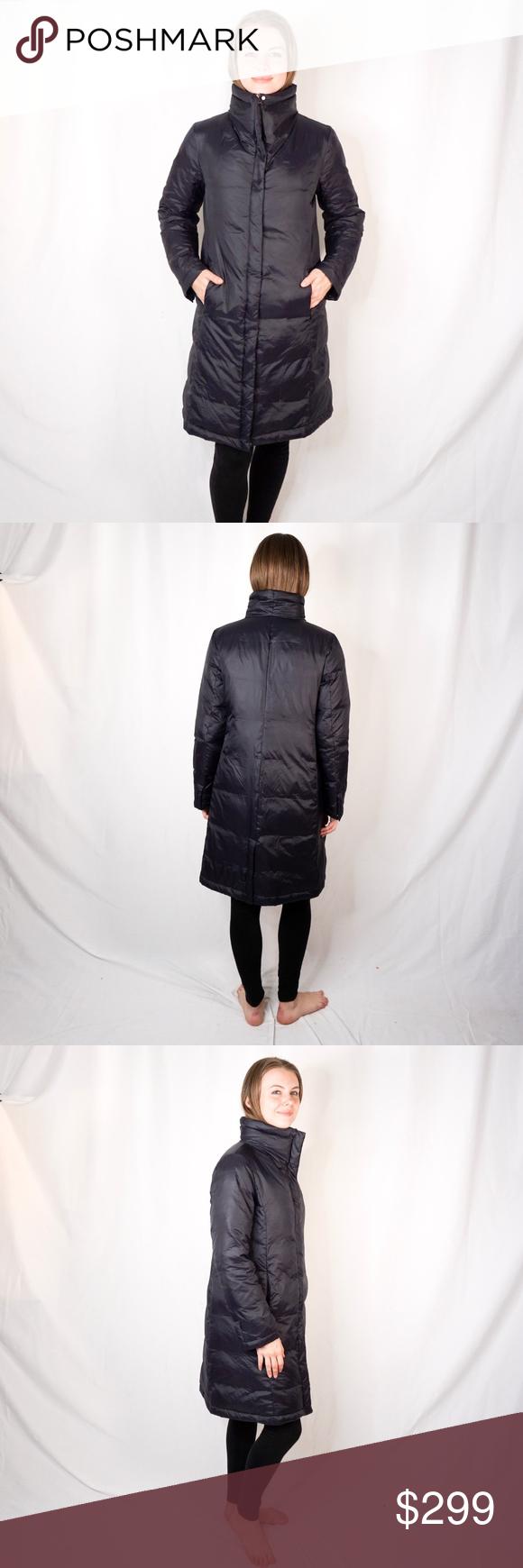 Eileen Fisher Black Long Down Puffer Jacket Reycle Long Black Puffer Coat Black Puffer Coat Eileen Fisher Jacket [ 1740 x 580 Pixel ]