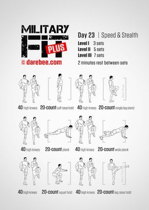 military fit plus 30day fitness program  military