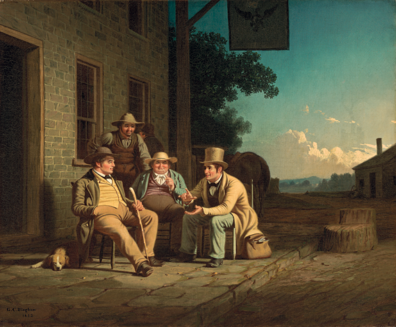 George Caleb Bingham, Canvassing for a Vote, 1852