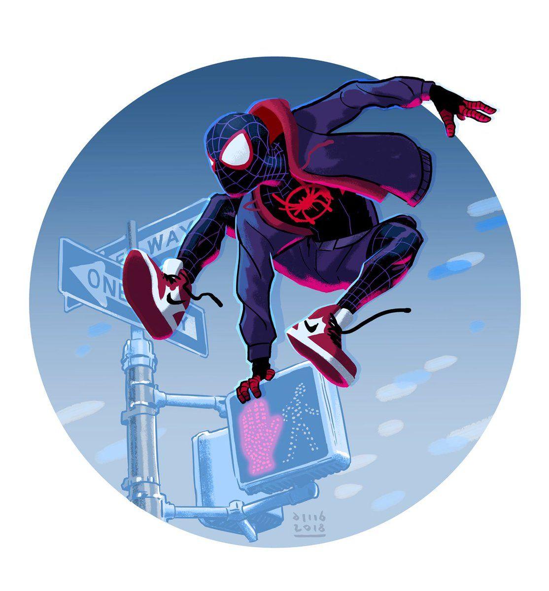 David M Buisan On Twitter Spider Verse Spiderman Spider