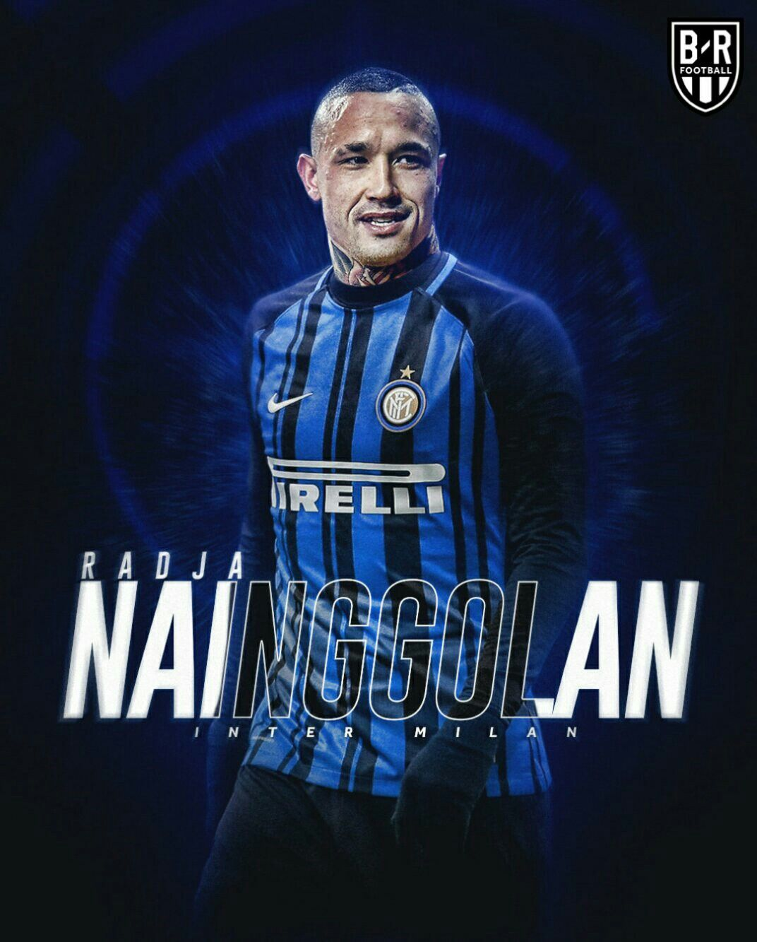 Nainggolan Inter milan, Football