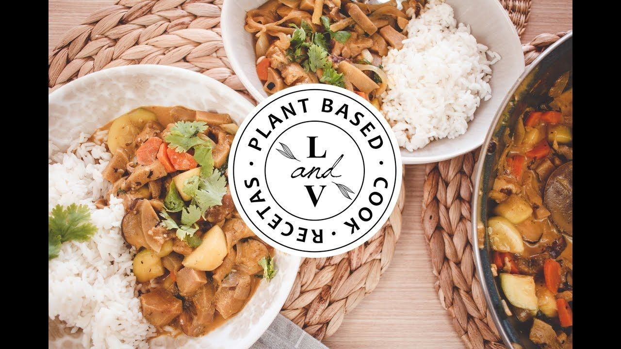 Thai Curry Con Shitake Love Veggie Con Imagenes Verduras