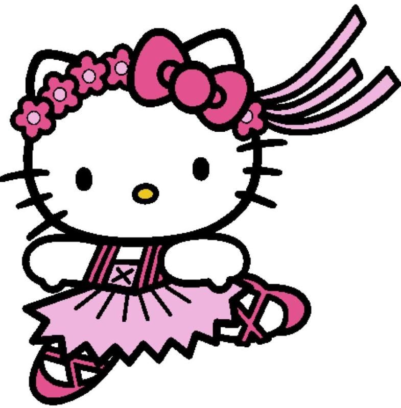 Hello Kitty Ballerina With Images Hello Kitty Coloring