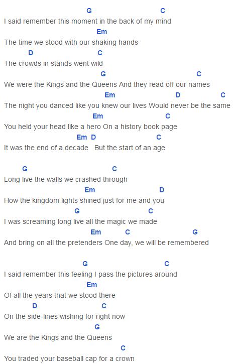 Taylor Swift Love Story Chords - Mediawiki.club