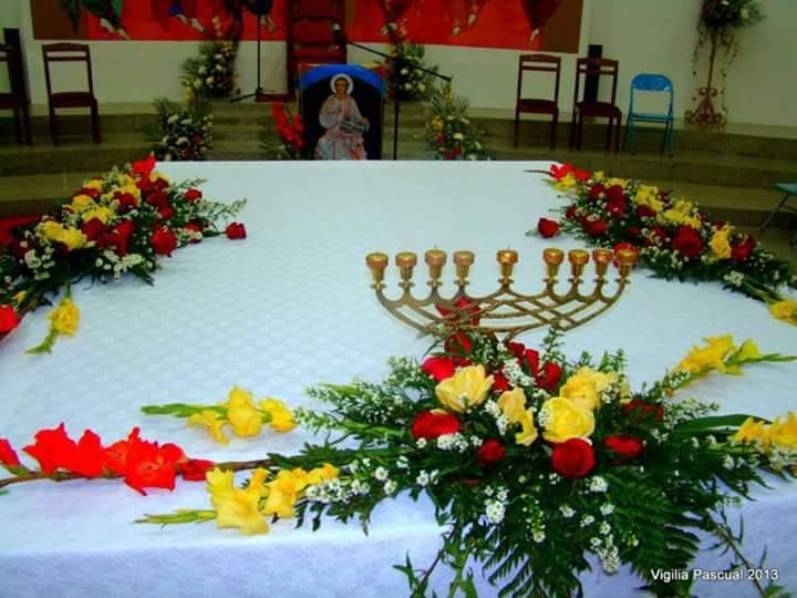 Mesa Eucarística Arreglos Florales En 2019 Table