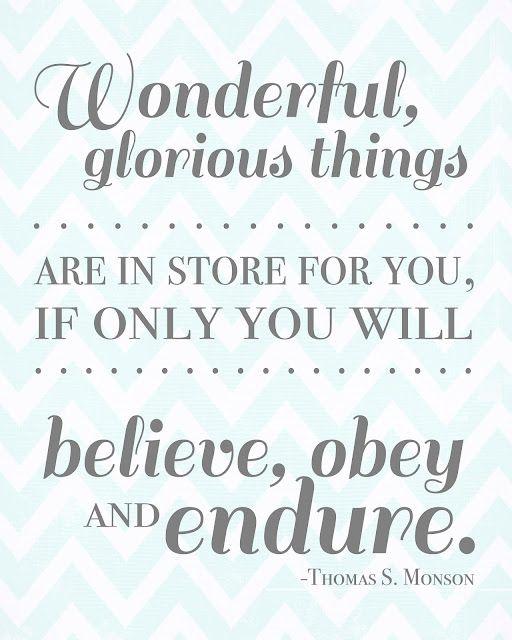 Glorious things