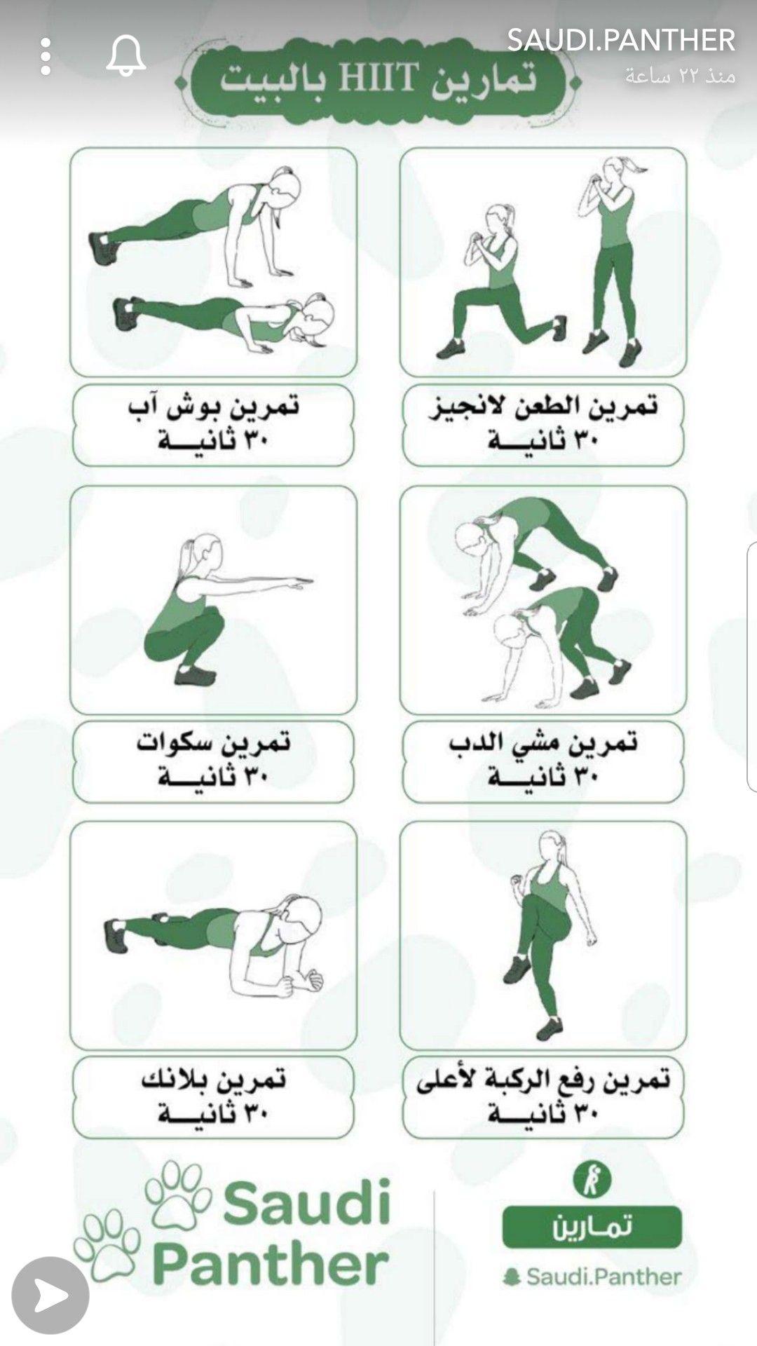 Pin By Dalal Abbas On تمرين رياضي Gym Workout For Beginners Workout For Beginners Hiit