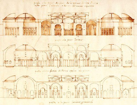 Roman Architecture Drawing renaissance architecture drawings and architecture drawing | lit