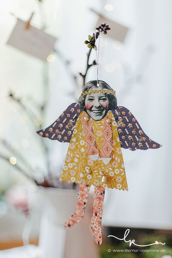 Photo of Make magical little Christmas angels – over 20 DIY craft ideas
