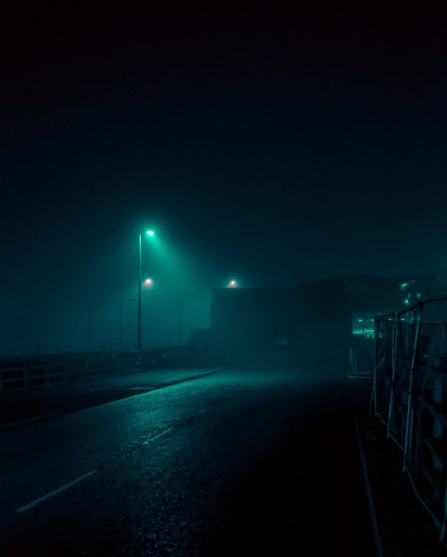 Dystopian Images Explore A Foggy Irish Town Drenched In