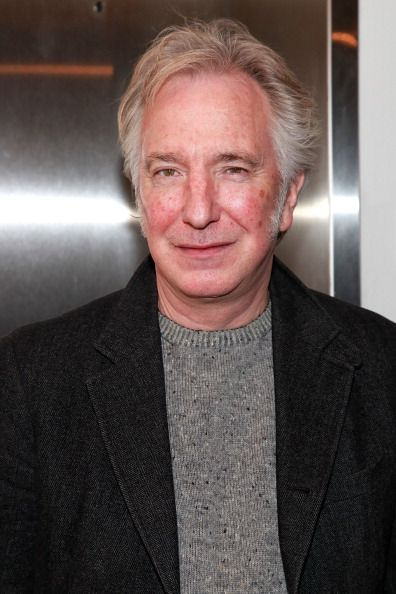 Alan for ever in…!! — karthaeuser65: Actor Alan Rickman attends the...