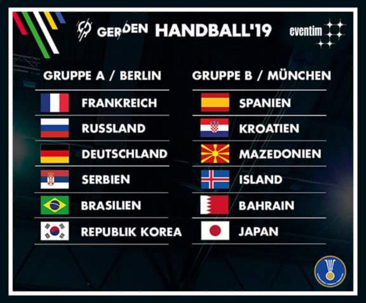 Russland Spanien Handball