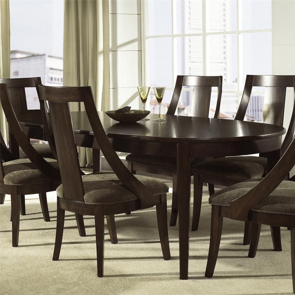 Cirque oval dining table by somerton