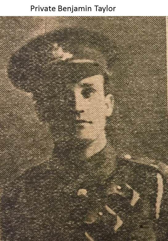 Private Benjamin Taylor