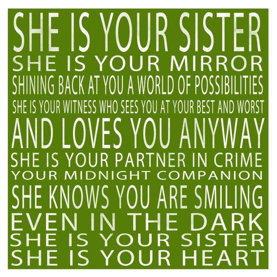 sister!