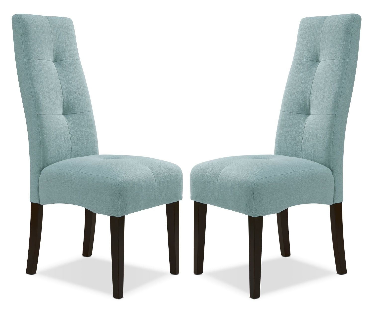 Dining room furniture abbotsly chairs set of 2 aqua
