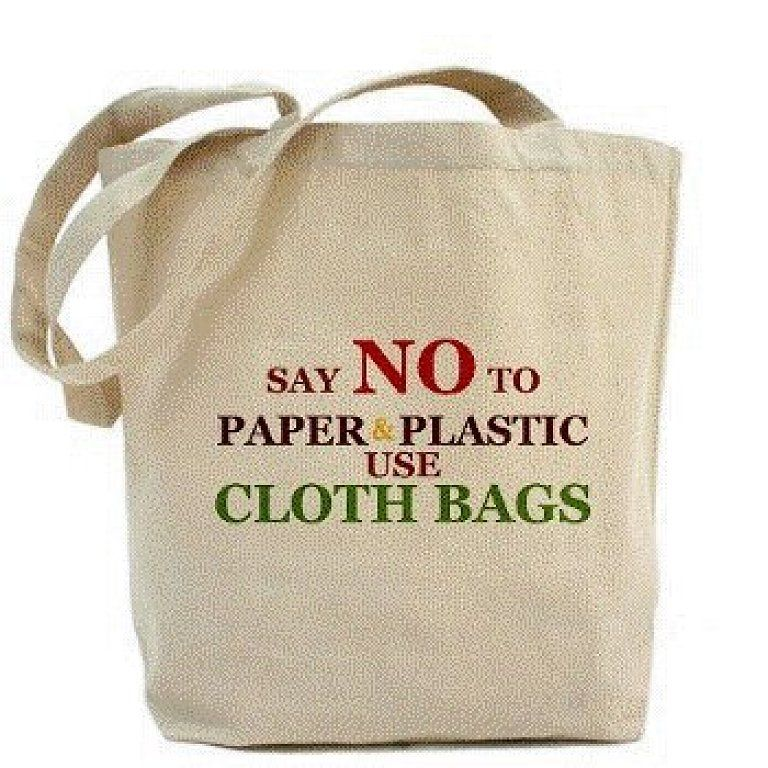 Use cloth bags and save environment. | Cloth bags, Bags