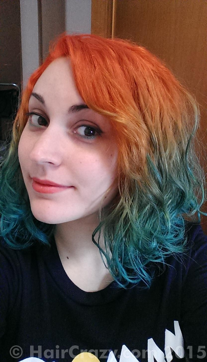 Mart612 Manic Panic After Midnight Blue Manic Panic Psychedelic Sunset Hair Photo Hair Today Cool Hairstyles