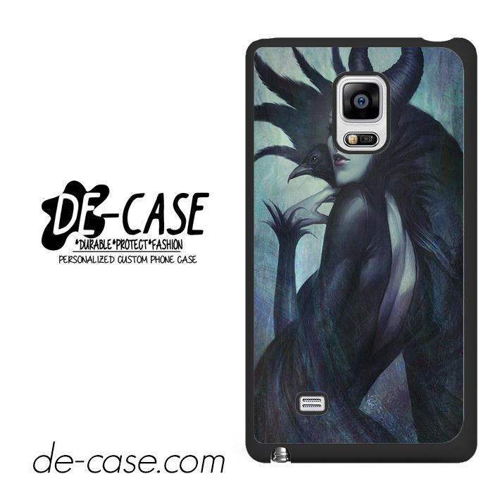 Malficient With Black Crow Stay Cool DEAL-6818 Samsung Phonecase Cover For Samsung Galaxy Note Edge