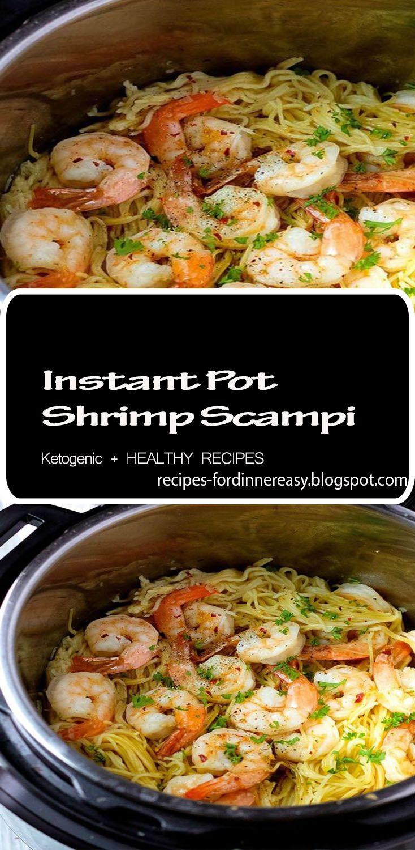 Instant Pot Shrimp Scampi #shrimpscampi