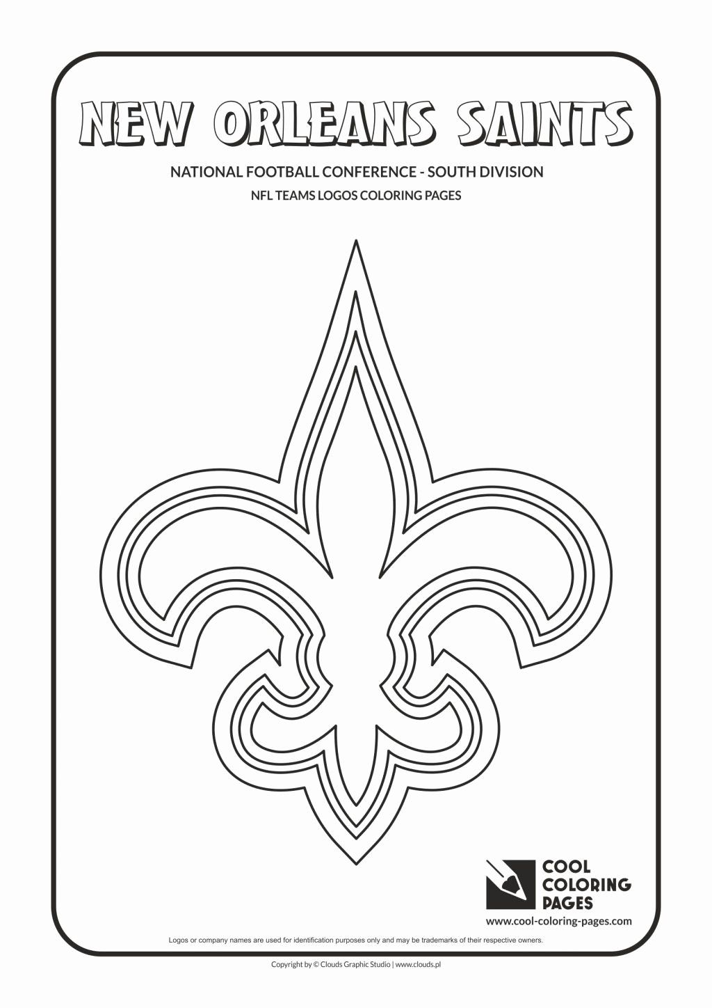 College Logo Coloring Pages Awesome Beautiful Nfl Symbols ...