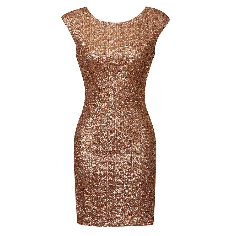 Glitter Party Dress - Ocodea.com