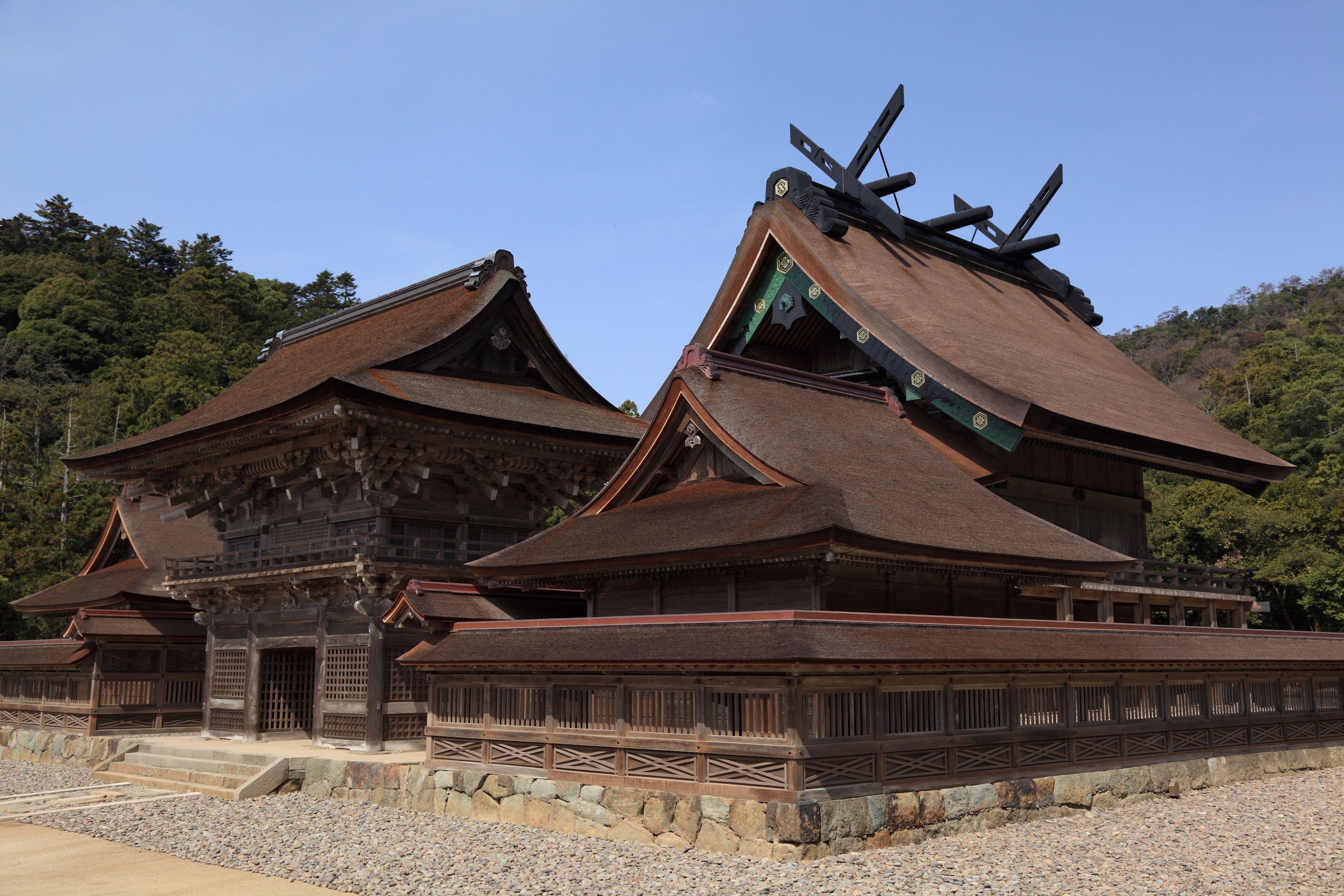 Izumo Taisha 出雲大社 (high resolution photo)