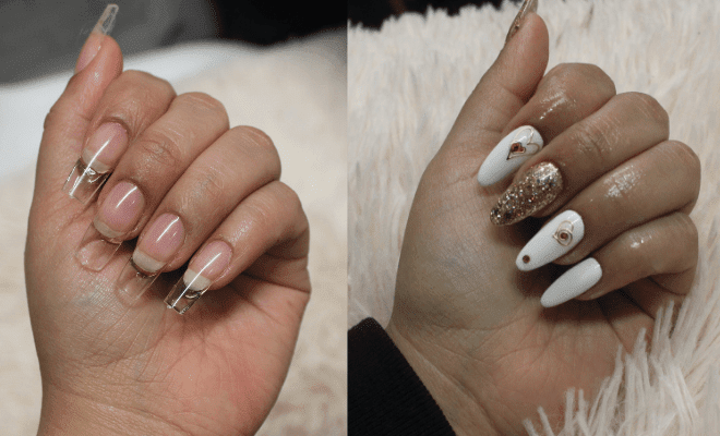 The Healthier Alternative To Acrylic Nails That Will Save How To Safely Remove Acrylic Gel Nails In 2020 Gel Vs Acrylic Nails Remove Acrylic Nails Gel Nail Extensions