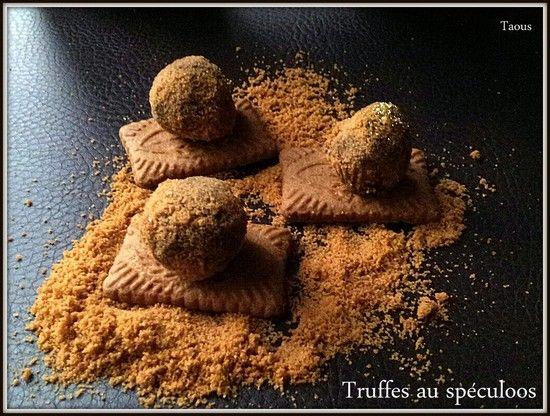 Truffes à la gavotte, à la noix de coco - Les saveurs partagées de Taous